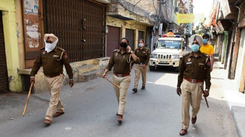 В Индии под карантин попала 1/6 населения Земли