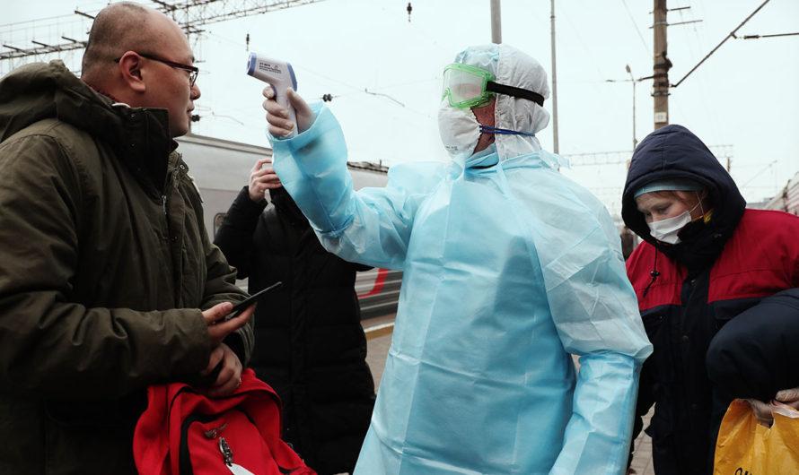 В России зафиксировано 500 новых случаев коронавируса