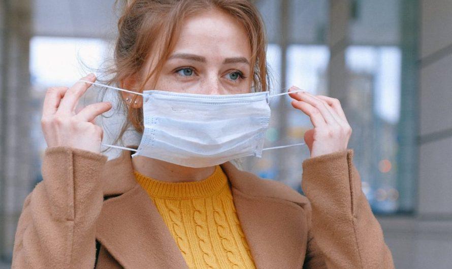 Снижение эффективности защитных масок из-за кашля